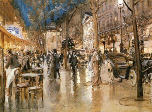 Georges STEIN - Boulevard Parisien