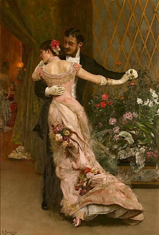 Rogelio de Esgusquiza - End of the Ball