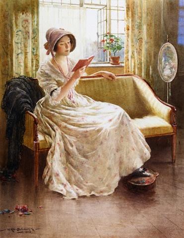 William Kay Blacklock - A Quiet Read