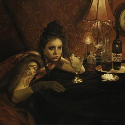 Pamela Wilson - Absinthe Drinkerand Hostile Silence