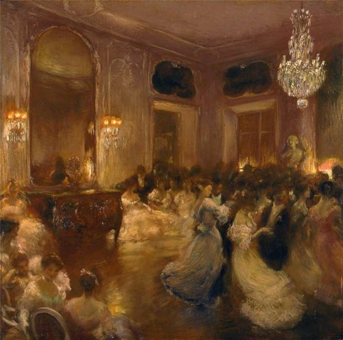 Gaston La Touche - Le Bal