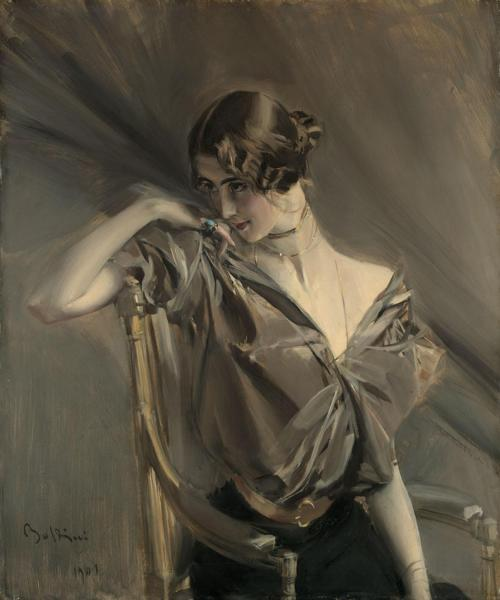 Giovanni Boldini - Cléo de Mérode 1901