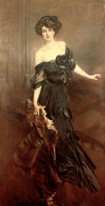 Giovanni Boldini - Mademoiselle de Nemidoff