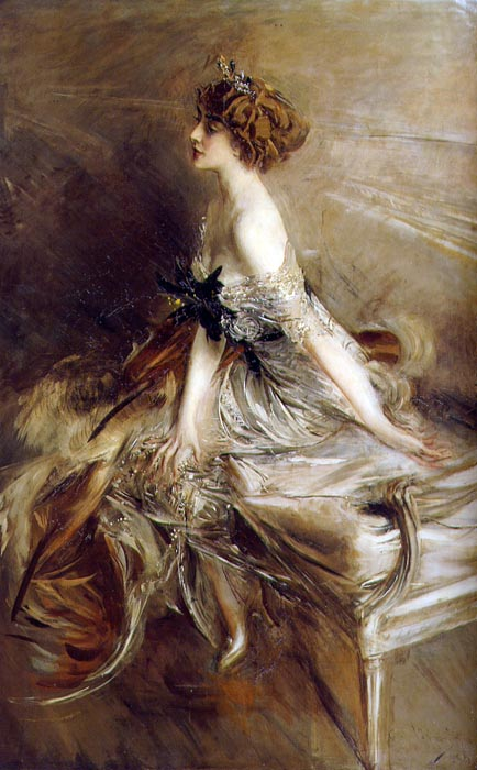 Giovanni Boldini - Portrait  of Princess Marthe-Lucile Bibesco