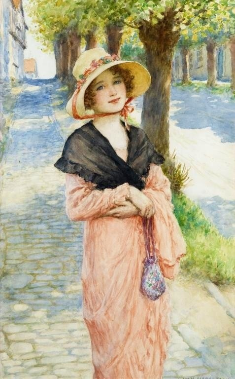 Willaim Henry Margetson - The Morning Walk