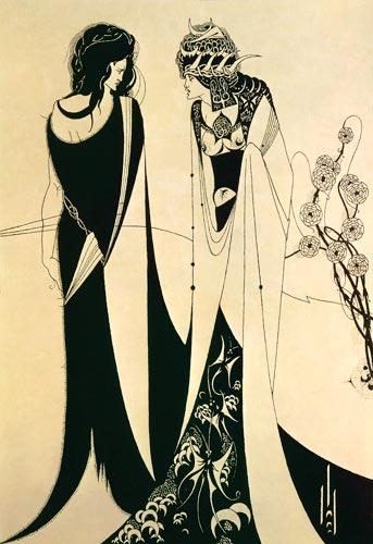 Aubrey Vincent BEARDSLEY - Herodias et Salomé