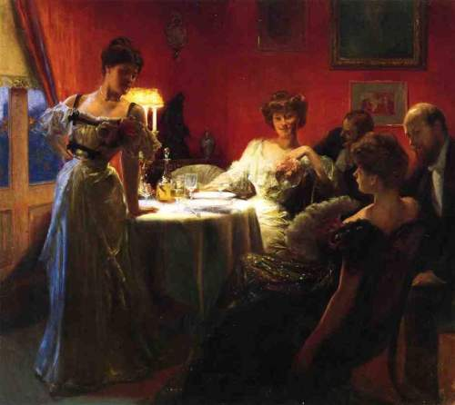 Julius LeBlanc Stewart - A Supper Party