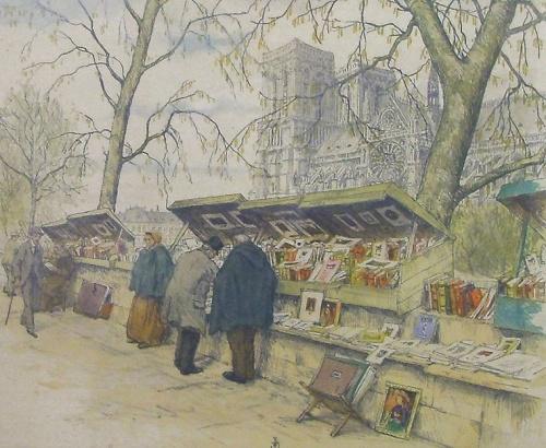 Simon NOVAK - Les Bouquinistes et Notre-Dame de Paris