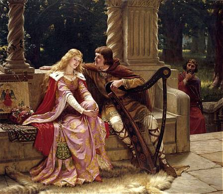 Edmund Blair-Leighton - Tristan and Isolde