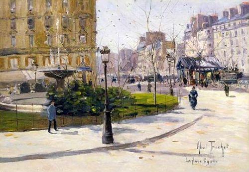Abel Truchet - Place Pigalle 1900