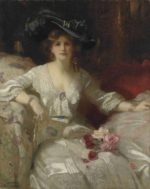 Francis Owen Salisbury - The Fair Lady, The Bridal Dress