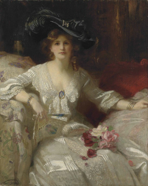 Francis Owen Salisbury - The Fair Lady, The Bridal Dress