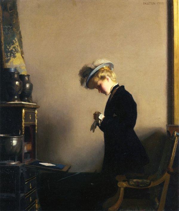 William McGregor Paxton - The Letter