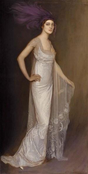 Antonio de la gandara - Portrait d'Ida Rubinstein