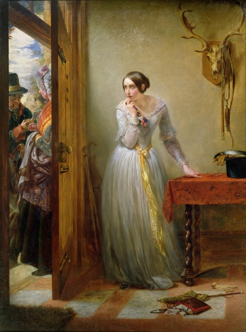 Charles West Cope - Palpitation 1844