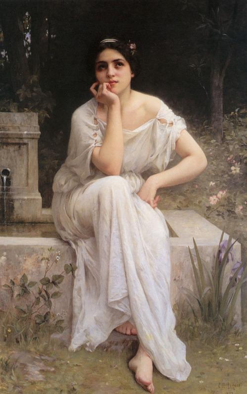 Charles Amable Lenoir - Meditation 1899
