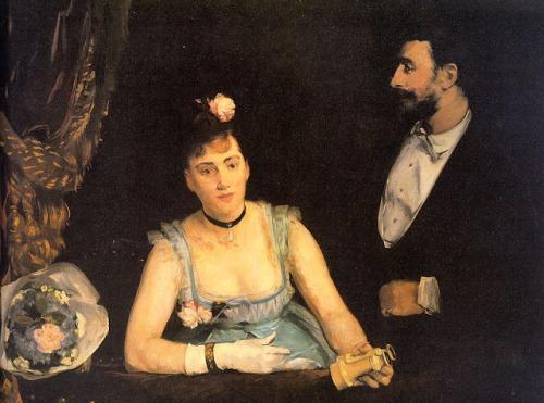 Eva Gonzalès - A Loge in The Thèâtre Des Italiens 1874