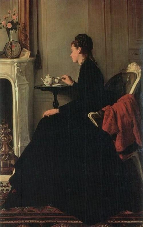 Eva Gonzalès - Tea
