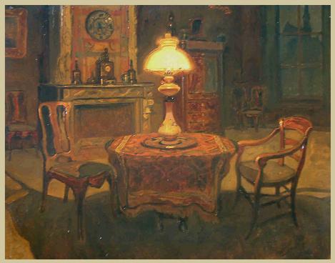 Willem Jansen - Interieurstuk