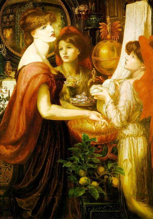 Dante Gabriel Rossetti - The Beautiful Hand 1875