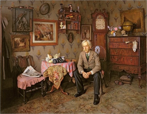 Charles Spencelayh - Why War-1938