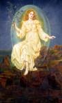 Evelyn De Morgan – Lux In Tenebris1895